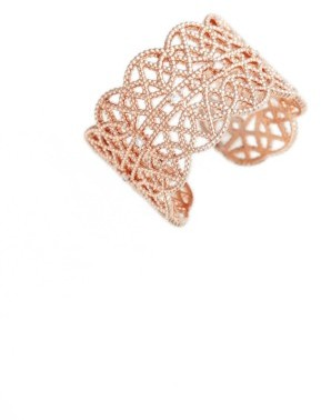 Women's Jules Smith Pave Lace Cuff Ring $45 thestylecure.com
