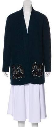 By Malene Birger Wool Embellished Cardigan