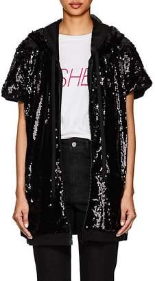 Faith Connexion Women's Sequined Short Sleeve Jacket