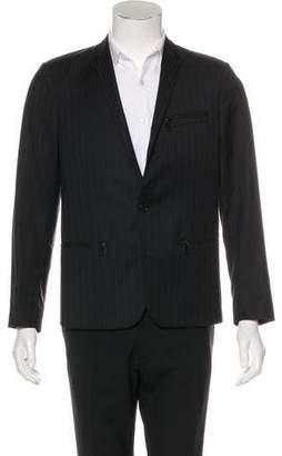 Christian Dior Striped Wool Blazer
