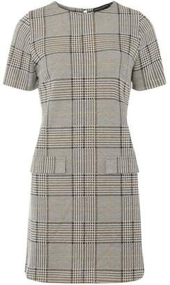 Dorothy Perkins Womens Multi Coloured Camel Check Tunic