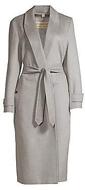 Burberry Women's Oxshott Cashmere Wrap Trench Coat