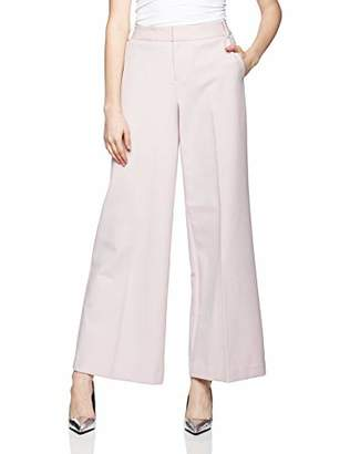 Reesa Rae Women's Smart Modern Fit Wide Leg Pants