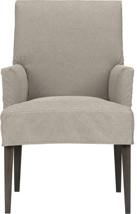 Crate & Barrel Short Slipcover Only for Miles Arm Chair