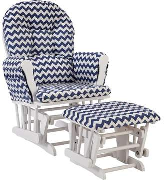 Stork Craft Storkcraft Hoop Chevron Glider and Ottoman Frame