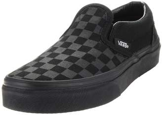 Vans Kids Classic Slip-On (Checkerboard) Skate Shoe 3 Kids US
