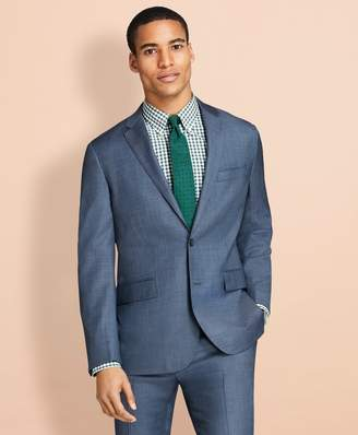 Brooks Brothers Sharkskin Wool Suit Jacket