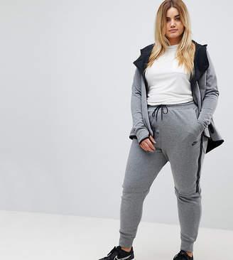 Nike Plus Tech Fleece Sweat Pants In Grey