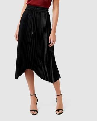 Forever New Cassie Elasticated Pleat Skirt