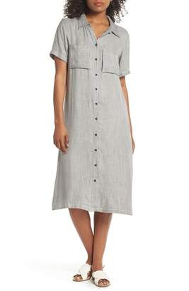 Knot Sisters Hannah Stripe Shirtdress