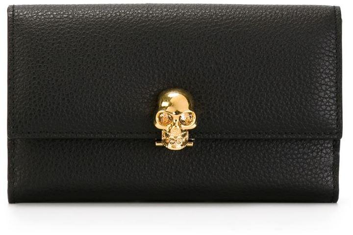 Alexander McQueenAlexander McQueen skull wallet