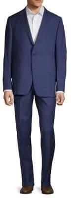 Hickey Freeman Milburn IIM Series Wool Plaid Suit