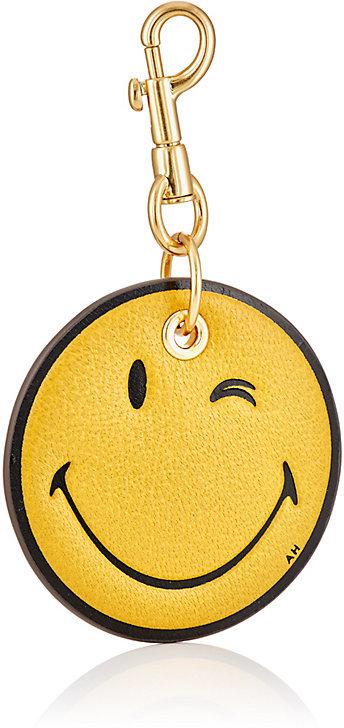 Anya HindmarchAnya Hindmarch Women's Wink Smiley Key Chain