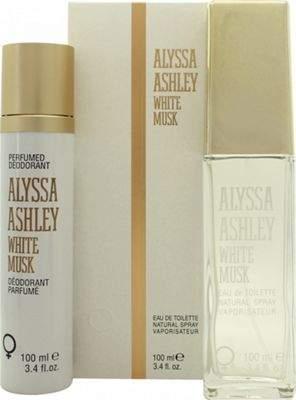 Alyssa Ashley White Musk Gift Set 100mL Edt + 100mL Perfumed Deodorant Spray For Women