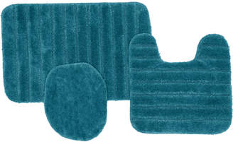 Mohawk 3-Pc. Nylon Bath Rug Set Bedding