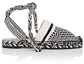 ANTOLINA Women's Rita Cotton Ankle-Tie Espadrilles
