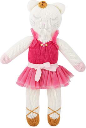 Zubels Knit Ballerina Kitten Doll, 14
