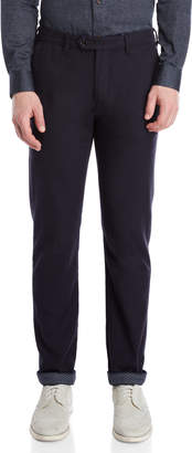 Ted Baker Slim Fit Brush Cotton Pants