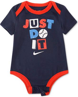 12964ef01c Nike Baby Boys Just Do It Graphic Bodysuit