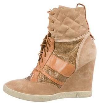 Chloe Wedge Sneakers - ShopStyle