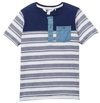 Petit Lem Henley Knit Tee (Toddler & Little Boys)