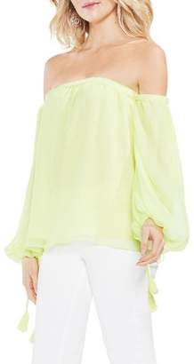 Vince Camuto Off the Shoulder Bubble Sleeve Blouse