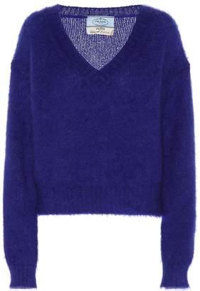 Prada Exclusive to Mytheresa mohair-blend sweater
