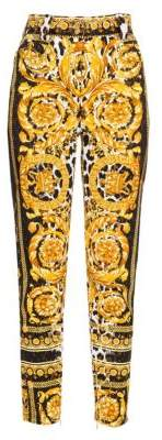 Versace Mix-Print Trousers