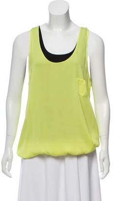 Robert Rodriguez Silk Sleeveless Blouse