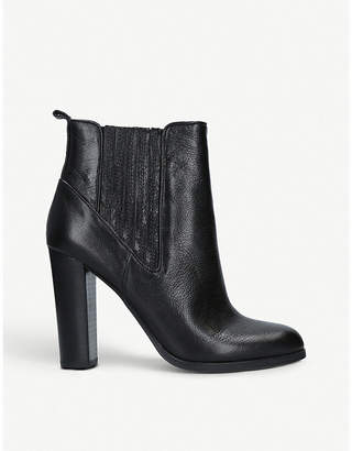 Nine West Crimson leather ankle boots