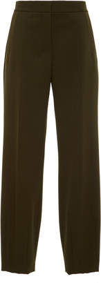Narciso Rodriguez Wool Trouser With Darted Hem