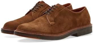 Alden Shoe Company Crepe Sole Plain Toe Blucher