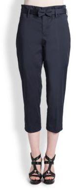 Jil Sander Bow-Belt Pants