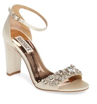 Women's Badgley Mischka Barby Ankle Strap Sandal $255 thestylecure.com