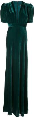 Jill Stuart deep V-neck gown