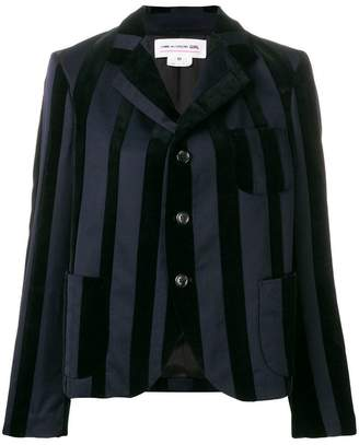 Comme des Garcons striped blazer