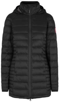 Canada Goose Brookvale Black Quilted Coat