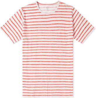 Hartford Stripe Pocket Tee