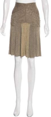Zac Posen Knee-Length Knit Skirt
