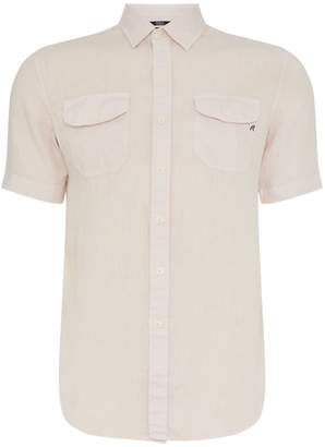 Replay Men's Short-Sleeve Cotton Shirt