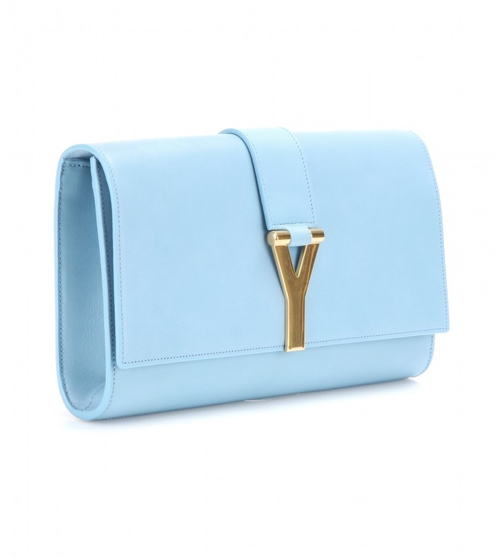 Saint Laurent Classic Y leather clutch