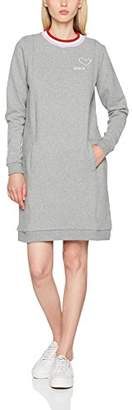 Bench Women's Sportive Sweatdress Dress, (Winter Grey Marl Ma1054), Medium