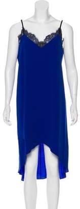 BCBGMAXAZRIA High-Low Slip Dress