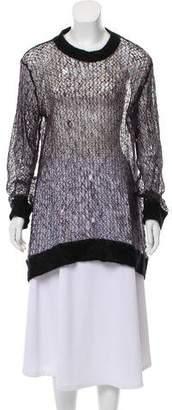 Ann Demeulemeester Crew Neck Lightweight Sweater