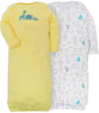 Gerber 2-pk. Unisex Baby Bodysuit Set- Yellow Zoo