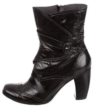 Fabi Leather Ankle Boots