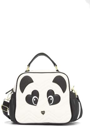 Betsey Johnson Panda Face Lunch Tote