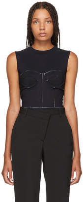 Maison Margiela Black Dayglow Bodysuit