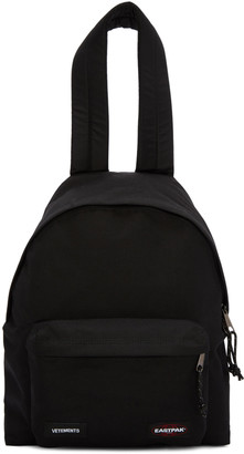 Vetements Black Eastpack Edition PAK'R' Backpack $830 thestylecure.com