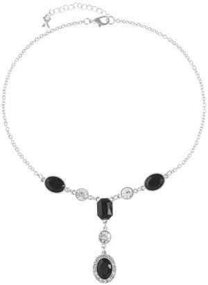 MIXIT Mixit Womens Black Y Necklace